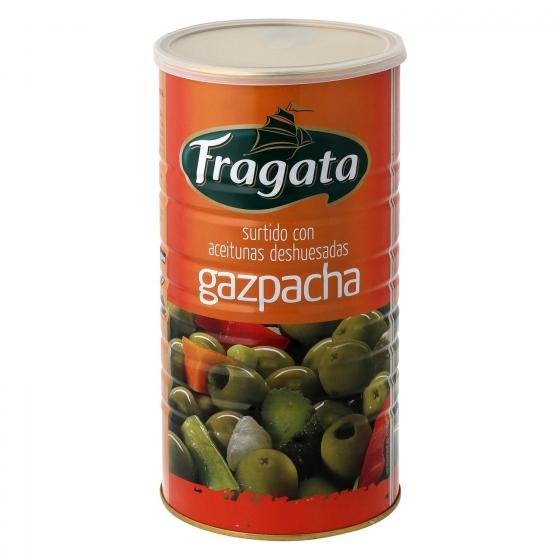 Aceitunas gazpacha sin hueso Fragata 600 g.