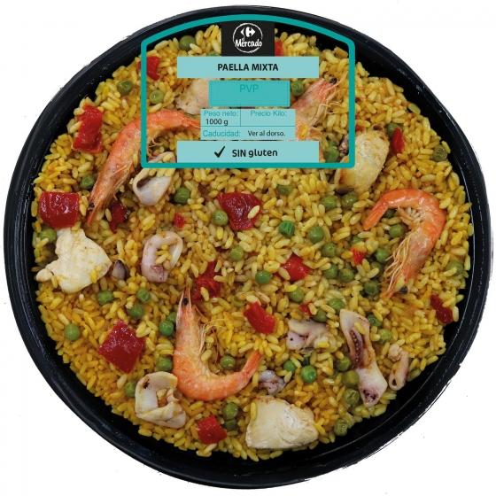 Paella familiar mixta Royal 1 kg