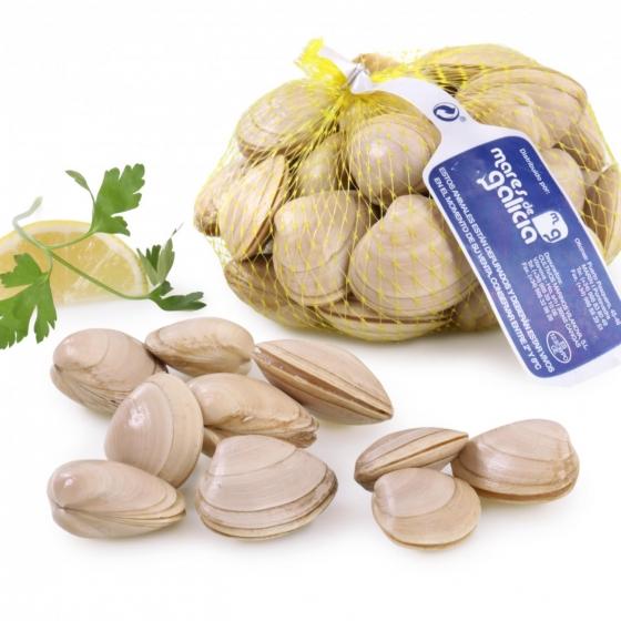 Almeja blanca malla de 500 g