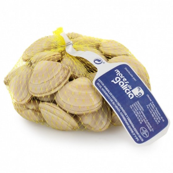 Almeja blanca malla de 500 g - 1