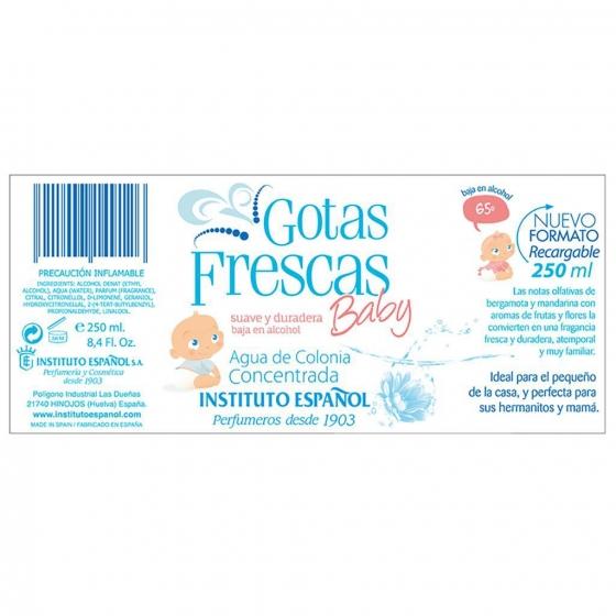 Colonia concentrada baby Gotas Frescas 250 ml. - 3