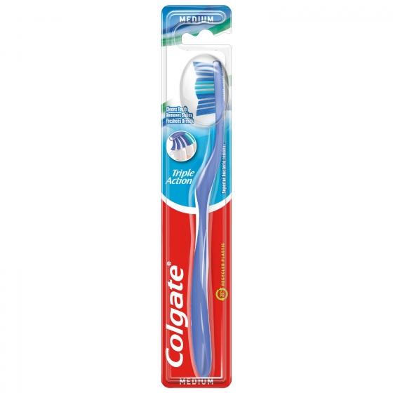 Cepillo dental Triple Acción Medio Colgate 1 ud.