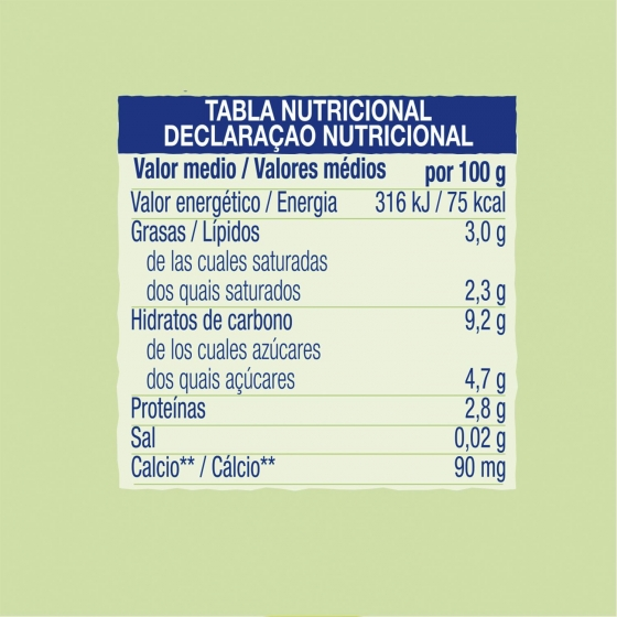 Yogur natural desde 6 meses Hero Baby Yogurines bolsita de 80 g. - 1