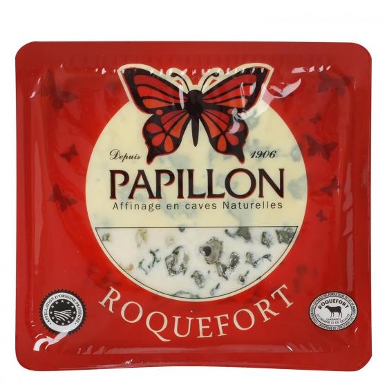 Queso azul roquefort Papillón rojo D.O.P. Iberconseil al corte  150 g aprox - 3