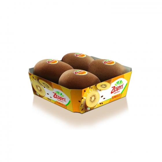 Kiwi gold selecta Carrefour bandeja 4 ud 500 g  - 1