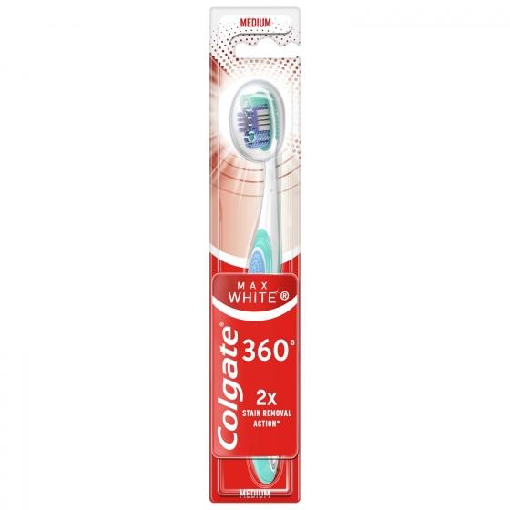 Cepillo dental Max White Expert medium Colgate 1 ud.