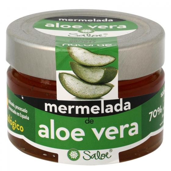 Mermelada de aloe vera ecológica Saloe 136 g.