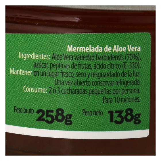 Mermelada de aloe vera ecológica Saloe 136 g. - 3