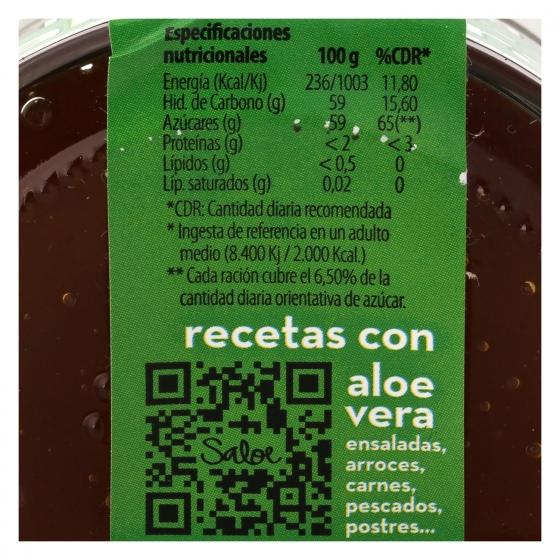 Mermelada de aloe vera ecológica Saloe 136 g. - 4