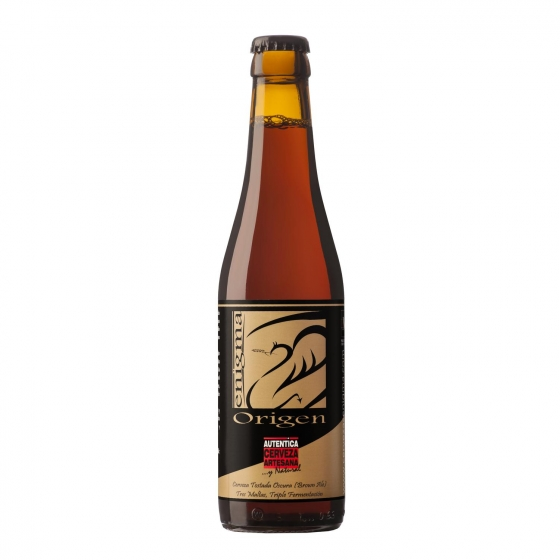 Cerveza artesana Enigma Origen botella 33 cl.