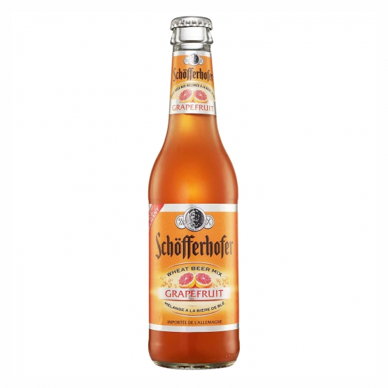 Cerveza Schöfferhofer sabor pomelo botella 33 cl.