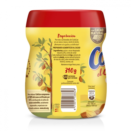 Cacao soluble Cola Cao 310 g. - 4