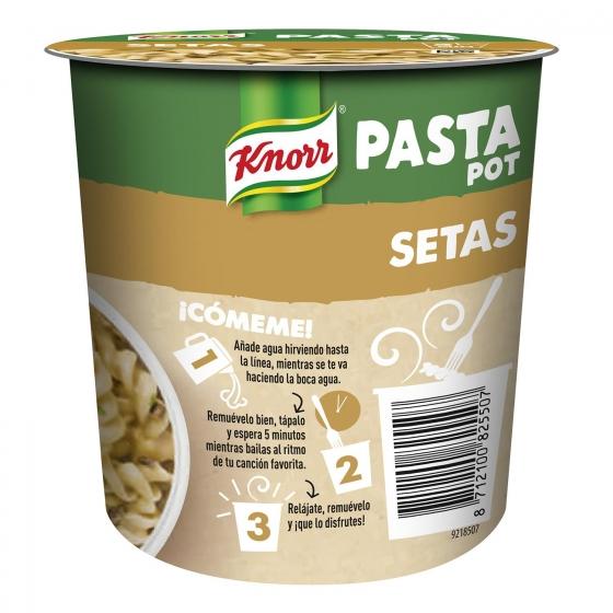 Pasta con salsa de setas Knorr 70 g. - 3