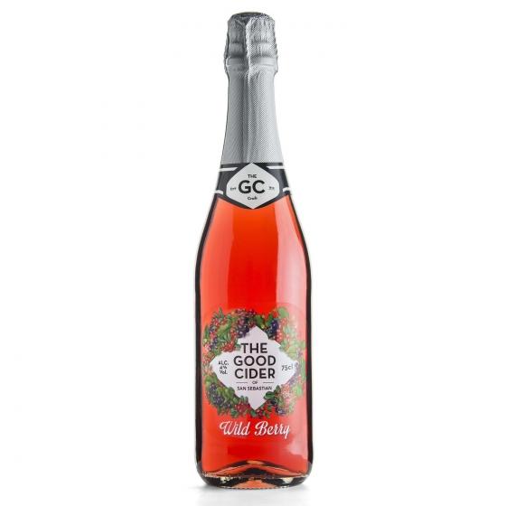 Sidra The Good Cider sabor frutos del bosque 75 cl.