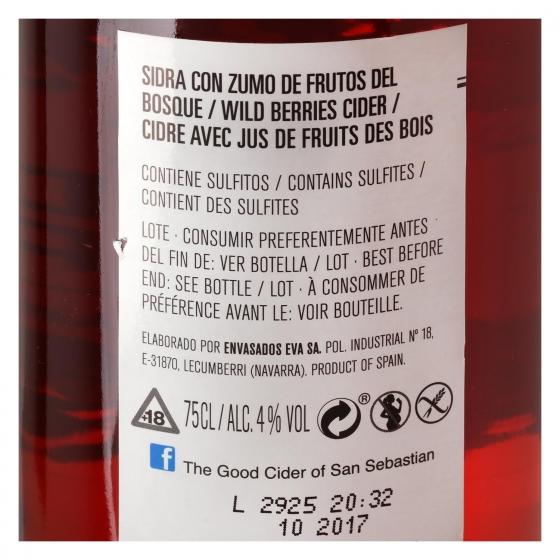 Sidra The Good Cider sabor frutos del bosque 75 cl. - 1
