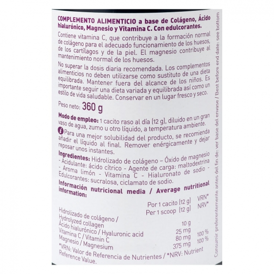 Complemento vitamínico colágeno Arkoflex 360 g. - 1