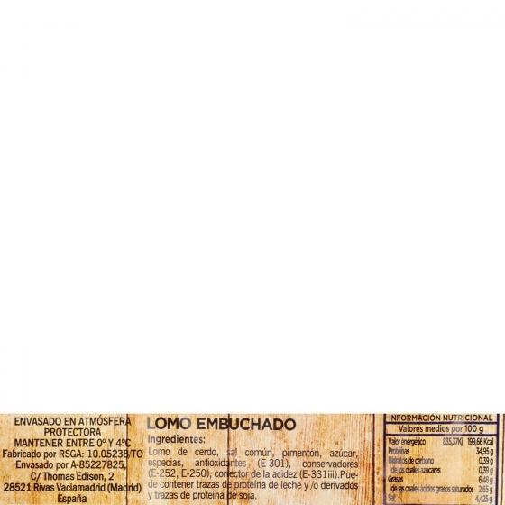 Lomo curado embuchado loncheado Embutidos España bipack (2x75g) envase 150 g - 3