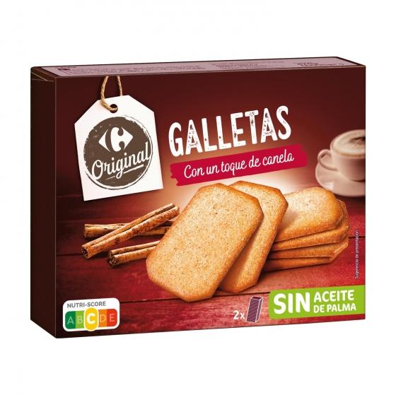 Galletas con canela Carrefour 470 g.