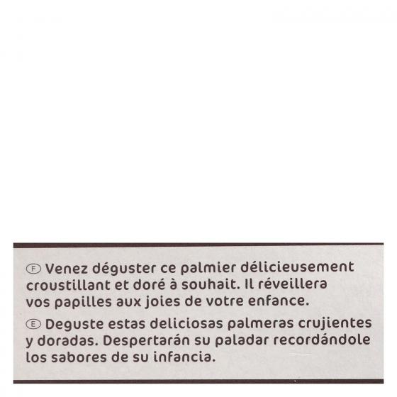 Palmeras de hojaldre Carrefour 100 g. - 3