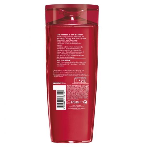 Champú Color-Vive para cabello teñido o con mechas L'Oréal-Elvive 370 ml. - 1