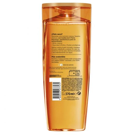 Champú Aceite Extraordinario para cabello normal a seco L'Oréal-Elvive 370 ml. - 1
