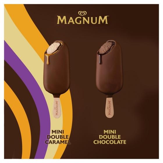 Mini bombón helado Double Caramel Chocolate Magnum 6 ud. - 3