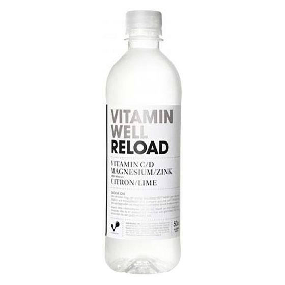 Bebida Isotónica Reload Vitamin Well botella 50 cl.