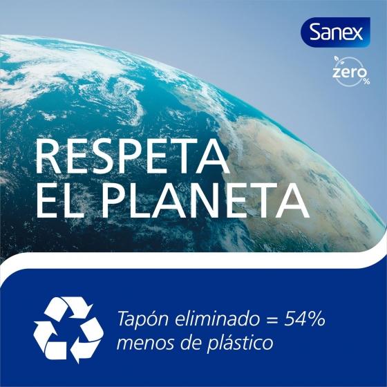 Desodorante en spray Zero 0% para piel normal Sanex Men 200 ml. - 3