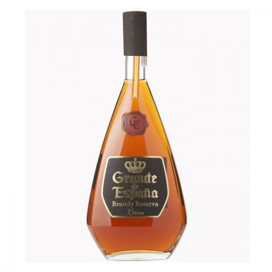 Brandy Grande de España reserva 15 años 70 cl.