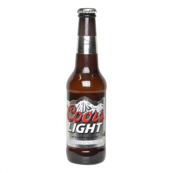 Cerveza Coors light botella 33 cl.
