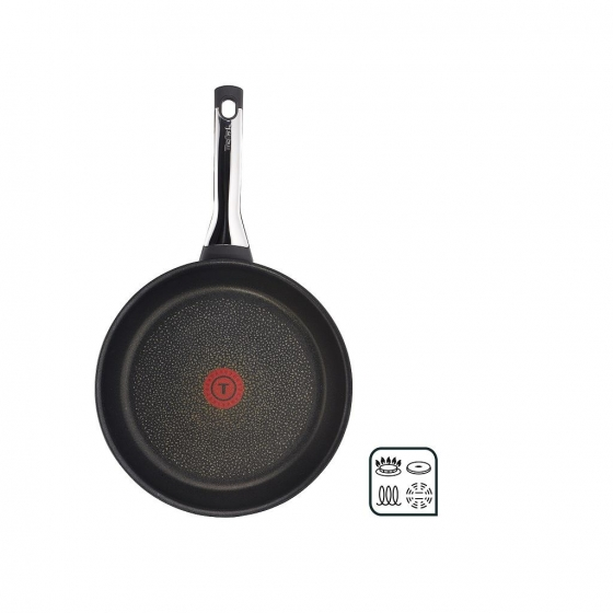 Sartén Baja de Aluminio Forjado TEFAL Talent Pro 30cm - Negro - 4