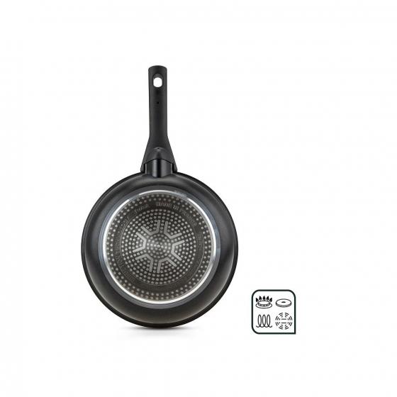 Sartén Baja de Aluminio Forjado TEFAL Talent Pro 30cm - Negro - 6