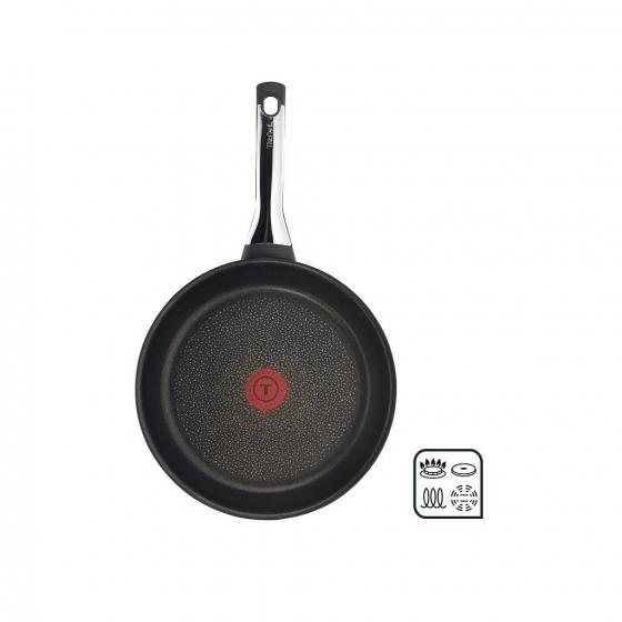 Sartén Baja de Aluminio Forjado TEFAL Talent Pro 21cm - Negro - 4