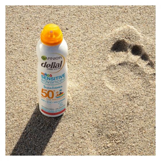 Bruma para niños Anti Arena FP 50+ aerosol Delial 200 ml. - 3
