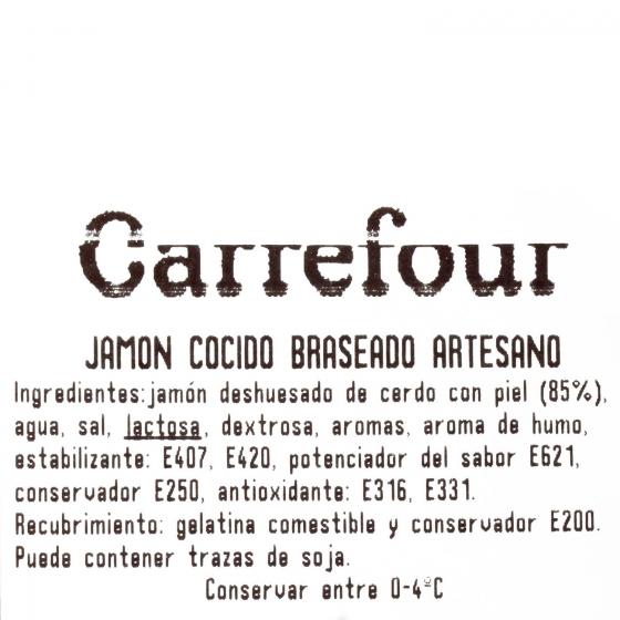 Jamón cocido braseado artesano ElPozo al corte 150 g aprox - 4