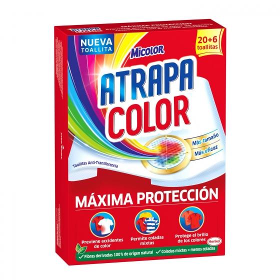 Toallitas atrapa color Adiós al Separar Micolor 20 ud.
