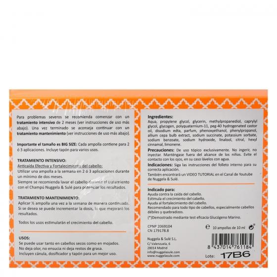 Ampollas premium anticaída efectiva Nuggela & Sulé 10 ud. - 1