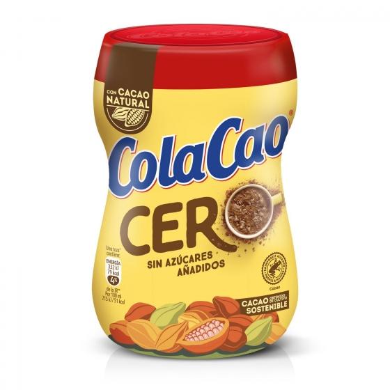 Cacao soluble 0% azúcares añadidos Cola Cao 300 g. - 1