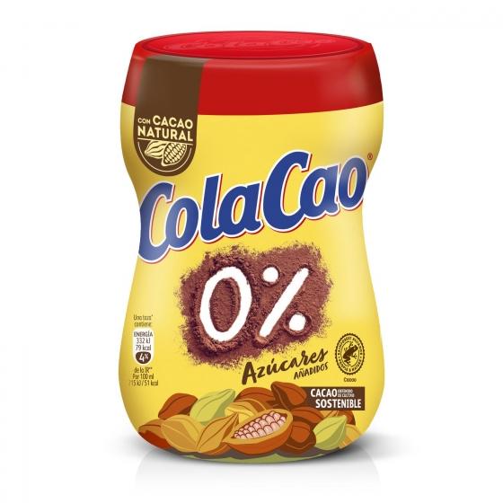 Cacao soluble 0% azúcares añadidos Cola Cao 300 g. - 3