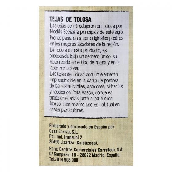 Barquillos de Tolosa De Nuestra Tierra 150 g. - 1