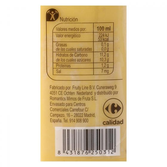 Smoothie piña, mango y yogur Carrefour botella 25 cl. - 3