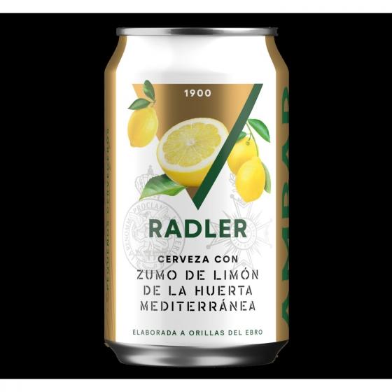 Cerveza Ambar Radler Lager premium lata 33 cl.