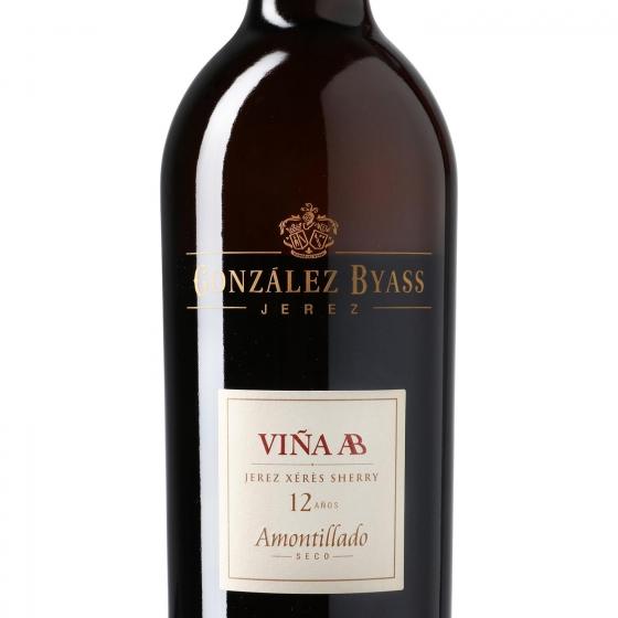 Vino D.O. Jerez Amontillado seco 12 años Viña AB 75 cl. - 1