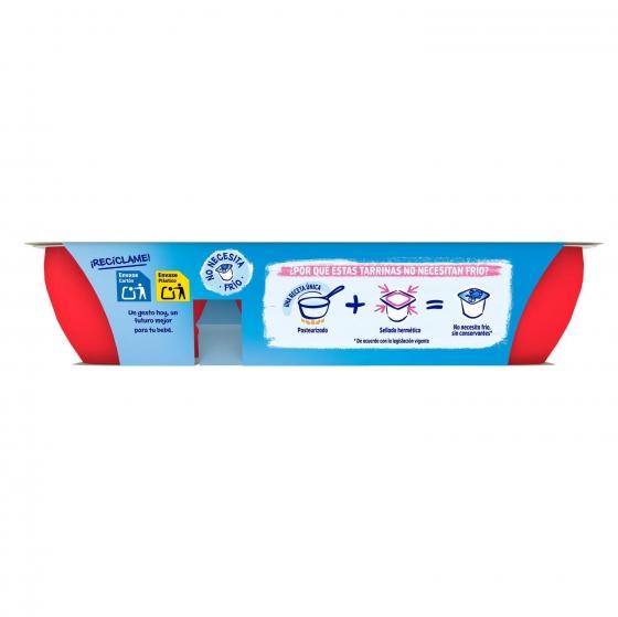 Postre lácteo de fresa y frambuesa desde 8 meses Nestlé Yogolino sin gluten pack de 6 unidades de 60 g. - 4