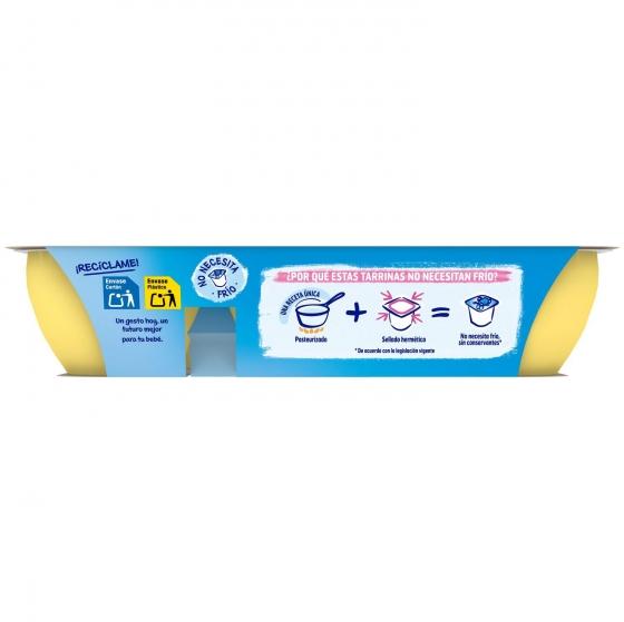 Postre lácteo de plátano y melocotón desde 6 meses Nestlé Yogolino sin gluten pack de 6 unidades de 60 g. - 4