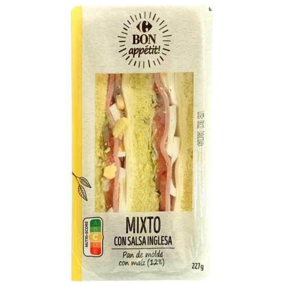 Sandwich york salsa inglesa Lord Sandwiches 1 ud.