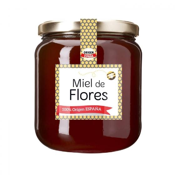 Miel artesana flores 1 kg