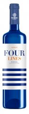Four Lines Blanco -