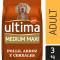 Alimento Perro Seco Ultima Medium Maxi Adulto Pollo -