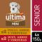Alimento Perro Húmedo Mini Senior Buey y Pollo 4x150 -